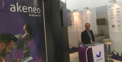 Akeneo stand at RBTE 2015