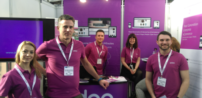 Odoo stand at RBTE 2015