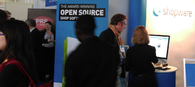 Shopware stand at RBTE 2015